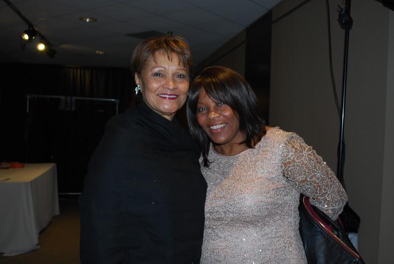 Cora Davis and Raenita Thompson