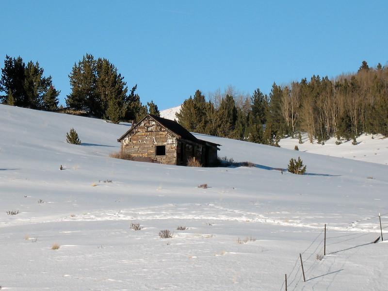Abandoned Home outside Victor