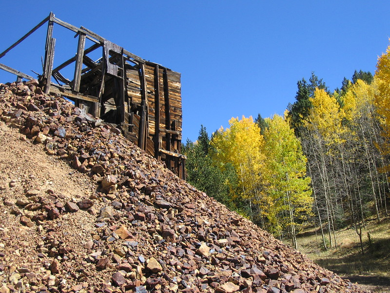 Old Mine in Cripple Creek Mining District
