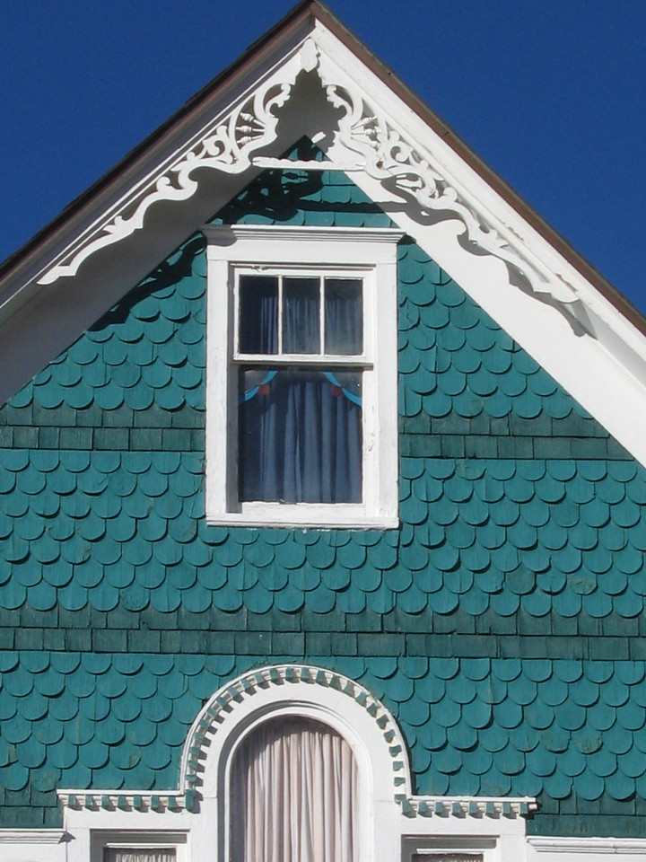 Gabled Victorian Roof