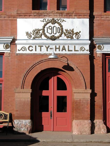 City Hall in Cripple Creek