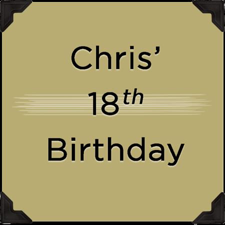 Cris' 18th Birthday Party