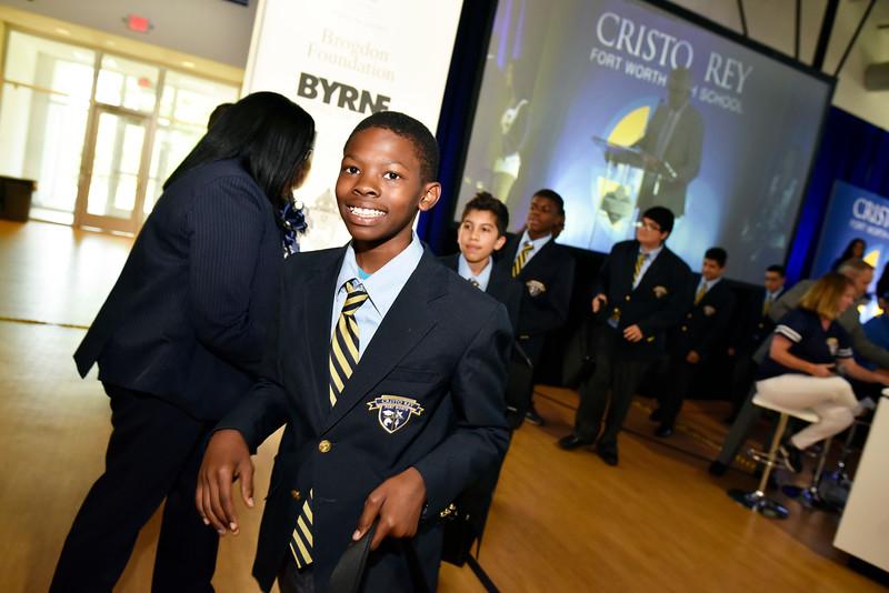 Cristo Rey Fort Worth High School Opens