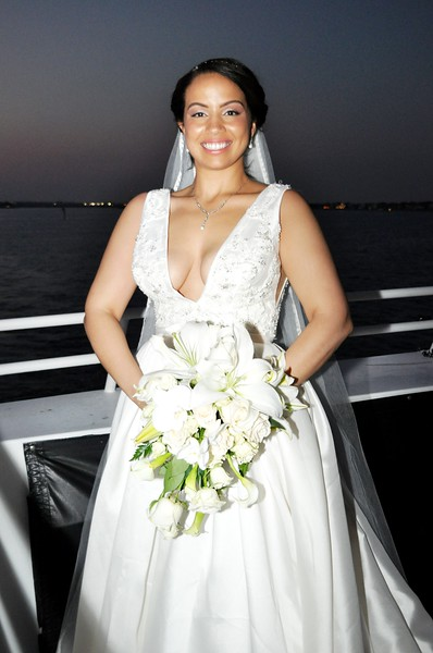 Beautiful wedding at StarLite Sapphire Dining Yacht, FL