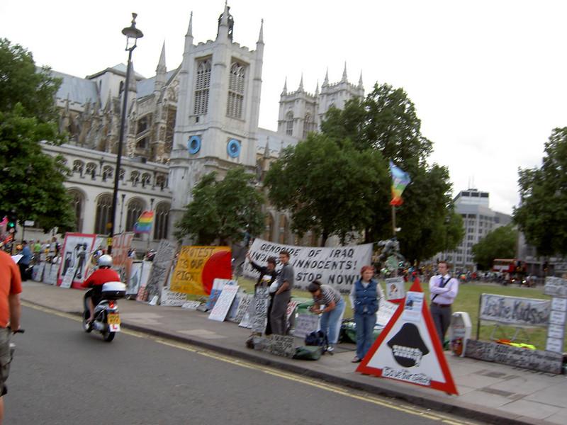 Brian's protest