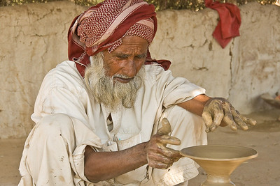 Potter, Rann of Kachchh, Gudjarat, India