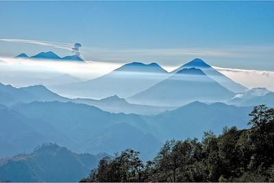 Volcanoes, Guatemala