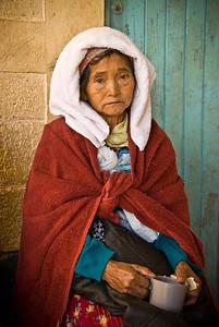 Mayan Clinic Patient, Sibinal, Guatemala 2008