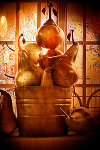 Montoya's Bucket Of Pears Sandy Friedkin