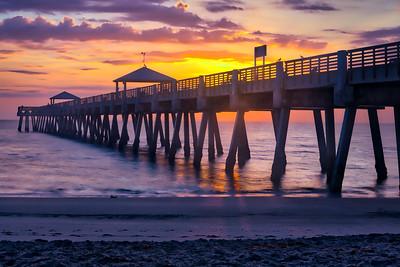 Juno Beach Pier After