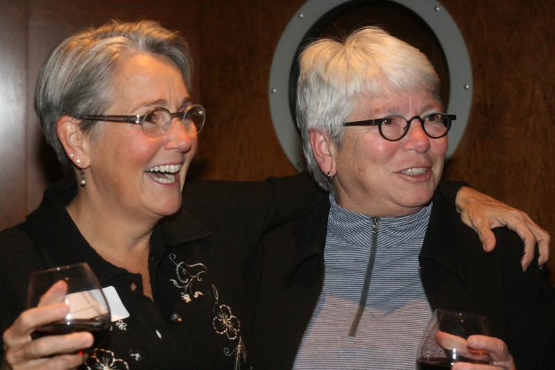 Delegate Maggie McIntosh and Diane Stollenwerk