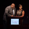 Our Emcees for the evening, Marc Clarke and Allison Seymour
