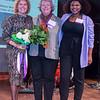Kathy Zachem, Joan March (Honoree) and Ebony Nicholson.