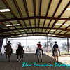 Quadrille lesson in the covered arena - final salute!