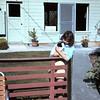Claudia and Missy at San Benancio - March 1964