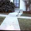 April 1962 - Pokey Emerald Eyes Hamerly in front of Helen Hamerly's house in San Diego