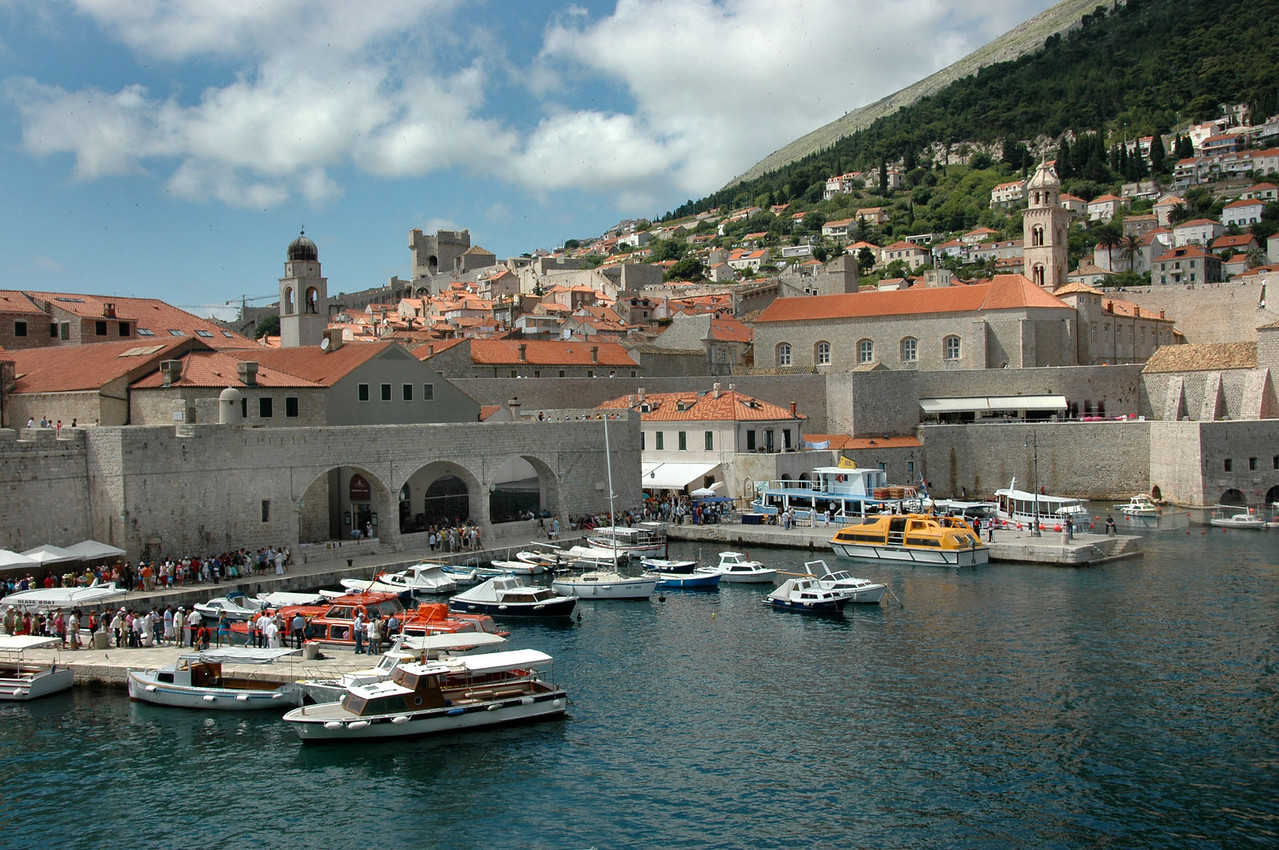 052-Dubrovnik-Harbor from wall-DSC_4261