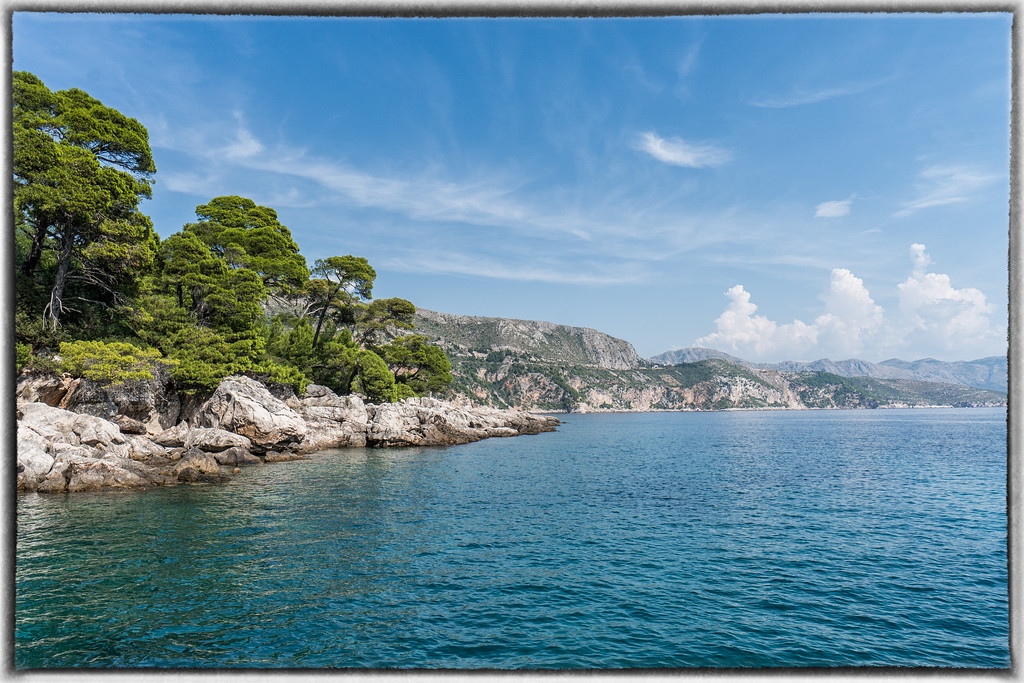 Heading Back to Dubrovnik From Lokrum Island