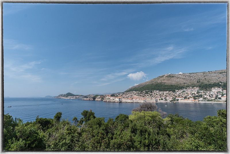 Dubrovnik and Walled City From Lokrum