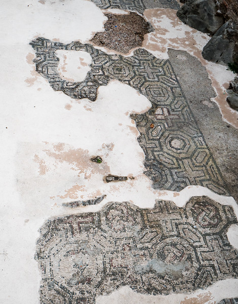 Original Roman Mosaic Floor in Split