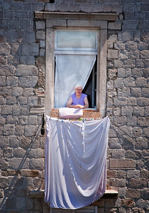 Richards___Wash Day in Dubrovnik