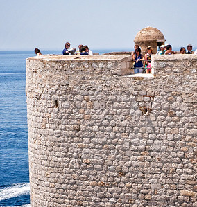 Richards___Part of the walk along the fortified Dubrovnik City Wall