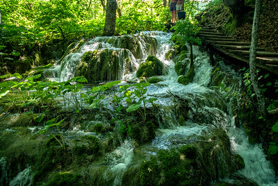 Richards___A Water Cascade at Plitvica National Park