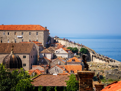 Kemmerer___The walk along the Dubrovnik City Wall