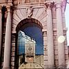 Reflection of Clock Tower: Zadar