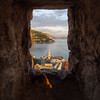 Dubrovnik through the city wall.