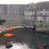 Dubrovnik, Croatia<br /> Yes, a kayaking concession outside the wall.