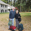 Peter and Susie with luggage