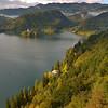 Lake Bled from Bled Grad (Bled Castle)