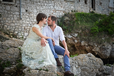 Couples portrait photographer Chicago, Croatia.