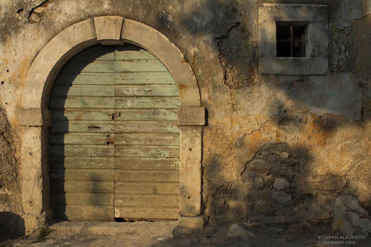 Old Garage Entrance