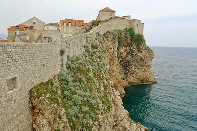 Walking the walls of the old city - Dubrovnik