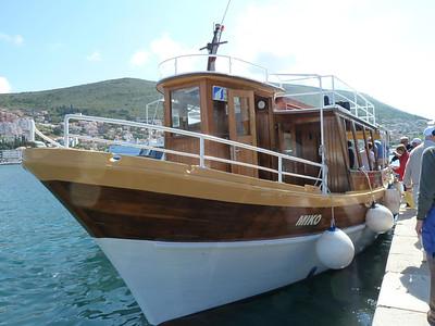Heading for the Elaphite Islands - Dubrovnik