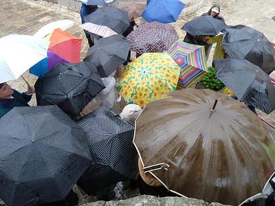 Rainy day in Montenegro