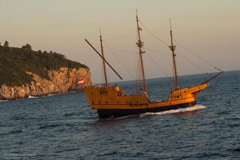 Old Croatian Ship