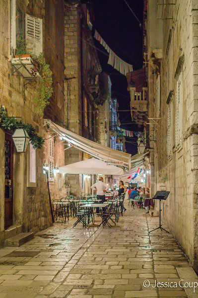 Dinnertime in Dubrovnik