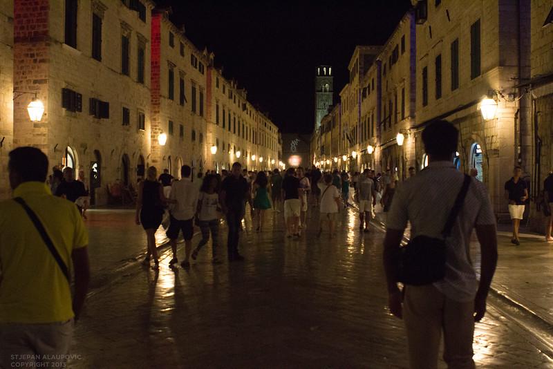 Dubrovnik Night Traffic