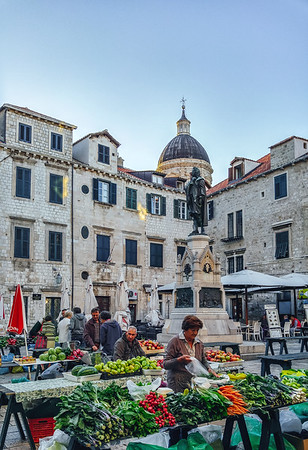 Farmers Market in Dubrovnik