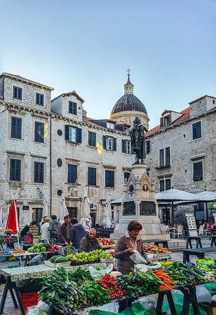 Farmers Market in Dubrovnik