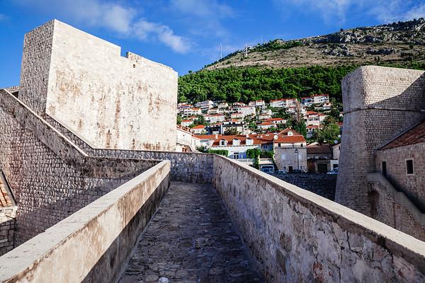 Dubrovnik's ancient city walls