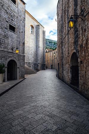 Street in Dubrovnik