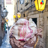 Sladoled ice cream at Dolce Vita in Dubrovnik, Croatia