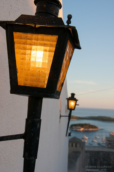 Hvar Castle Lamps
