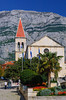 The church of St. Mark in Makarska, Croatia.
