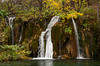The waterfalls of Plitvice Lakes National Park, Croatia.
