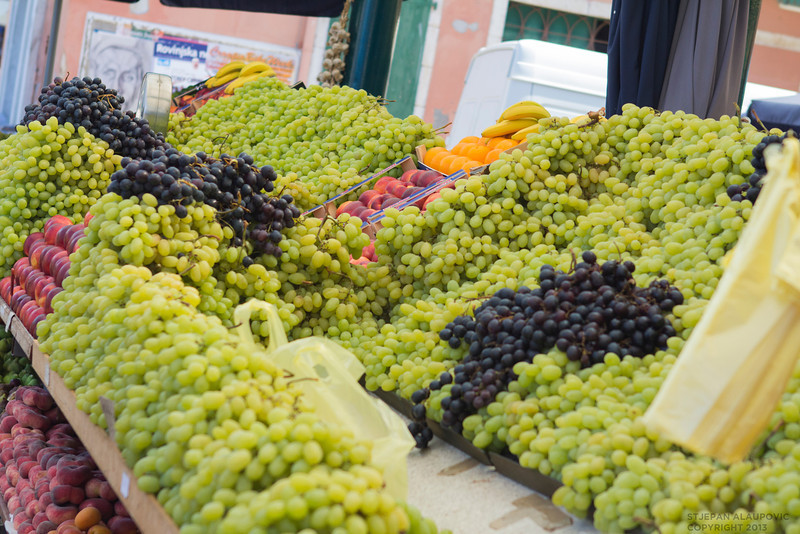 Grapes at Rovinj Market